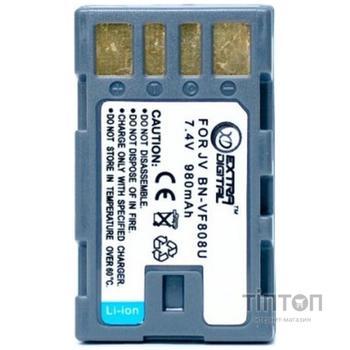 Акумулятор до фото/відео EXTRADIGITAL JVC BN-VF808 (DV00DV1196)