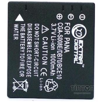 Акумулятор до фото/відео EXTRADIGITAL Panasonic CGA-S008, Ricoh DB-70 (BDP2553)