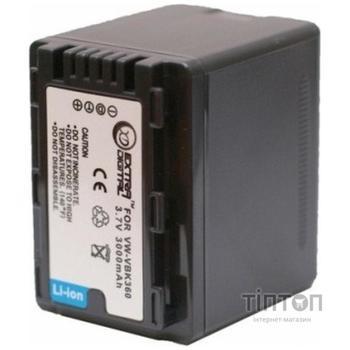 Акумулятор до фото/відео EXTRADIGITAL Panasonic VW-VBK360 (DV00DV1364)