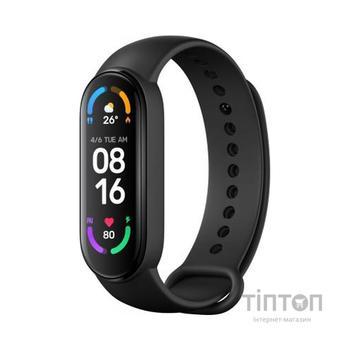 Фітнес браслет Xiaomi Mi Smart Band 6 Black Global (Mi Smart Band 6 Black)