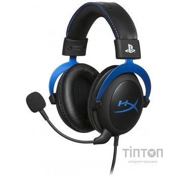 Навушники HyperX Cloud for PS4 Black/Blue (HX-HSCLS-BL/EM)