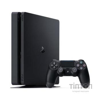 Ігрова консоль SONY PlayStation 4 1TB (CUH-2208B) +GTS+HZD CE+SpiderM+PSPlus 3M (669209)