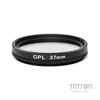 Світлофільтр PowerPlant CPL 37 мм (CPLF37)