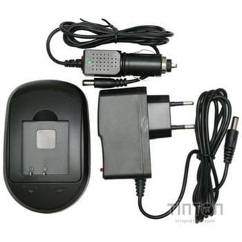 Зарядний пристрій для фото EXTRADIGITAL Canon NB-4L, NB-8L, Samsung BP125A (DV00DV2005)
