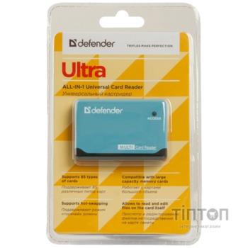 Зчитувач флеш-карт Defender ULTRA (83500)